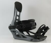 K2 Indy Snowboard Bindings Large, Grey (US Men's Size 8-12) New 2021