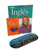 Learn to Speak INGLES (Spanish to English) Language Deluxe 8 Audio CDs, 2 books