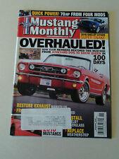Mustang Monthly Magazine 2009 November 2010 Shelby GT500 Super Snake 2010 Shaker