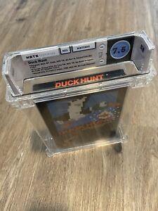 Duck Hunt NES 💎💎WATA 7.5💎💎 CIB Rare Find