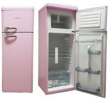 Retro Kühlschrank Pink A+ Kühl Gefrierkombination Five5Cents Classic WOW NEU