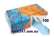 100 SUPER MAX NITRILE GLOVES TGA Aproved size Small - BETTER BRAND & QUALITY