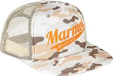 805a677899a Marmot Origins Hat Men s Camo Trucker Baseball Cap Desert Camo Snapback One  Size
