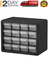 Small Parts Storage Cabinet Plastic Organizer Drawers Box Craft Hardware