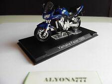 """1/24 Ixo YAMAHA FAZER 1000 Blue MOTO Bike Motorcycle 1:24 Altaya /IXO """"NEW"""""""