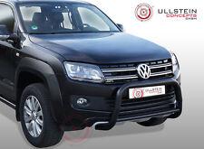 EU Frontbügel in Edelstahl schwarz beschichtet für Volkswagen Amarok