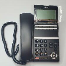 Nec Dt400 Series Dtz 12D 3 Bk 650002 Black Push Button Office Phone New