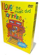 I Love Toy Trains The Music DVD NEW James Coffey Kids model trains audio & video