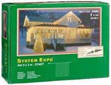 System Expo Lichternetz-start 192 Lampen 3x3m klar 484-35