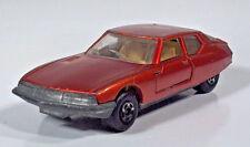 "Matchbox No51 Lesney Superfast 1971 Citroen SM 3"" Scale Model England"
