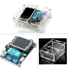 Russian GM328 Transistor Tester Assembled LCR Meter+Acrylic Case DIY Kits