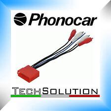 Phonocar 4/199 Cavo Adattatore BOSE Pre Audi A3 A4 Alto Basso Livello RCA