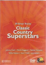 Classic Country Superstars - 20 Great Tracks - DVD