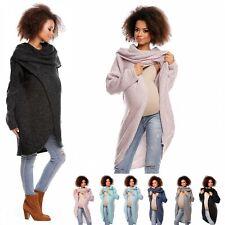 Zeta Ville - Women's Maternity Knit Jumper Layer Pullover Breastfeeding - 359c