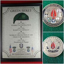 Mc-Nice: Socom Coin & Personalized Special Forces Jfk Quote