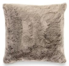 Luxury Faux Fur Cushion Filled Scatter Cushions Fluffy Mink Brown 60x60cm