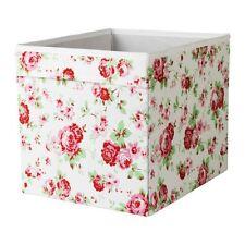 IKEA DR�–NA Fach Box für Expedit Regal Aufbewahrungsbox Kiste Rosen 33x38x33cm