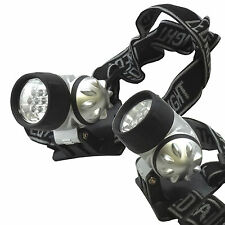 USA LED Head Lamp Light Hands Free Headband Camping Home Survival Emergency