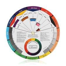 Coloring Matching Guide DIY Wheel Colors Mixing Chart Hot For Blending U1U1