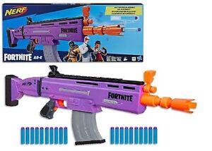 Nerf Fortnite AR-E Motorized Blaster Ages 8+ Toy Gun Fire Fight Dart Shot Blast