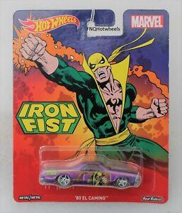 Hot wheels Marvel Iron Fist '80 EL Camino Car FNQHotwheels FH290