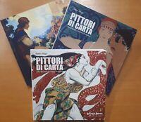 S. Alligo - Pittori di carta - Libri illustrati tra Otto e Novecento - 3 Volumi