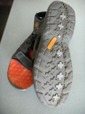 Timberland Gray Leather Sandals: Men's Size 12M, Gell Soles,Quick Release Strap