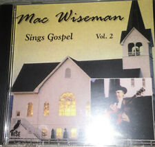 Mac Wiseman CD Sings Gospel Vol-2
