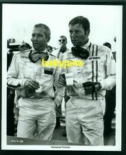 PAUL NEWMAN ROBERT WAGNER VINTAGE 8X10 PHOTO CAR RACING OUTFITS 1969 WINNING
