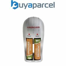 Chargeurs de pile Uniross pour équipement audio et vidéo AA