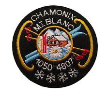 ECUSSON CHAMONIX MONT-BLANC ♦️ 1050 M 4807 M ♦️ Brodé ♦️