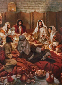 This Is My Body Christian Art Print Of The Last Supper by James Seward