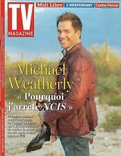 TV MAGAZINE N°22397 14/08/2016  WEATHERLY/ NOS CHERS VOISINS/ SCHMITT/ TOUSSAINT