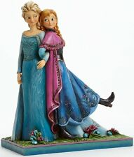 Tca Jim Shore Disney Traditions Frozen Anna & Elsa Sisters Forever Statue New