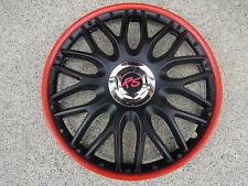 "Alu-Design Radkappe 14 Zoll ""Orden red/black roter Rand"" RS Winterreifen"