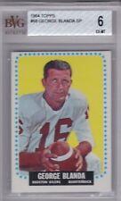 GEORGE BLANDA 1964 Topps SP #68 BVG 6 Houston Oilers Oakland Raiders
