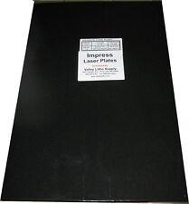 Impress Polyester Laser Printing Plates 12 x 19-3/8   - 100 Box - New