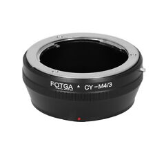 CONTAX C/Y CY Lens to Micro M 4/3 Adapter Ring For Panasonic G Olympus E Camera