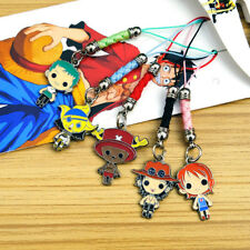 Anime One Piece ACE Chopper Pendant Keychain Cosplay Ornament Bag Phone Charm