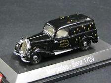 """Schuco Mercedes-Benz 170 V Kastenwagen 1:43 """"MBS Fleer Toys for big Boys"""" (JS)"""