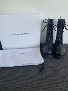 Camilla and Marc Charlee Combat Boot - Size 36