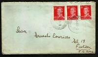 ARGENTINA 1955 COVER BS.AS. TO FULTON-AMBULANT NRO. 106 VERY NICE !!