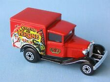 Matchbox MB-38 Ford Model A Van Circus Krone Big Top Toy Model Car 75mm