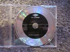"""DEF LEPPARD """"ALL I WANT IS EVERYTHING"""" (EDIT) 1996 MERCURY PROMO CD SINGLE NM"""