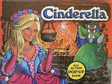 CINDERELLA POP-UP BOOK BY V. KUBASTA VINTAGE COLLECTIBLE MINT CONDITION