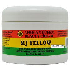 African Queen Beauty Cream Mj Yellow 8 Oz / 226.4 g