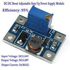 DC-DC 3.3v 5v 9v 12v 2A Boost Converter Adjustable Step Up Power Supply Module