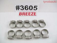 Breeze 3605 All Stainless Steel Liner Clamp 17mm 11/16 Silicone Hose Fuel Line