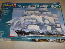 A Revell un-built / un-made plastic kit of the Clipper ship Cutty Sark