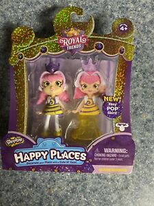Shopkins Happy Places Royal Trends QUEEN BEEHAVE Doll & Pop Skirt . Brand New